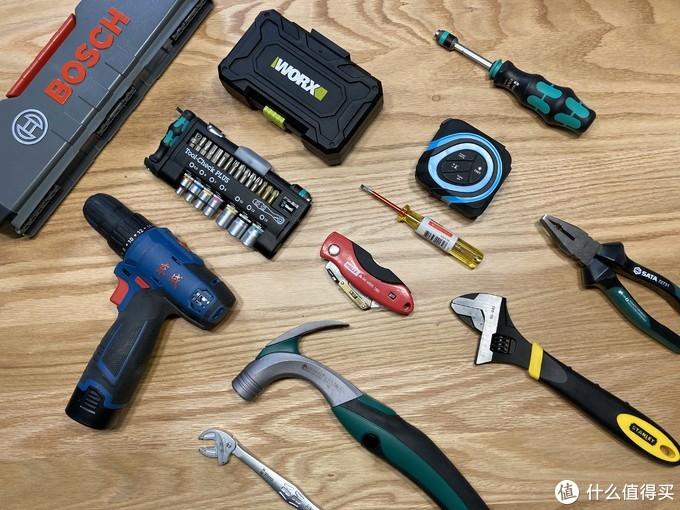 男人的玩具,我的家用工具不完全总结