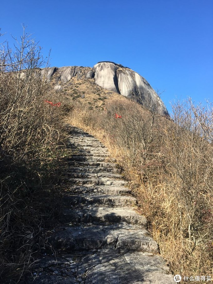山路还算友善,这样算比较陡的了