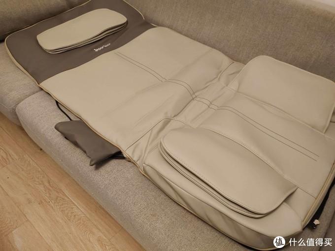 比按摩椅更舒服的按摩床垫,躺在锐珀尔上很快睡着了