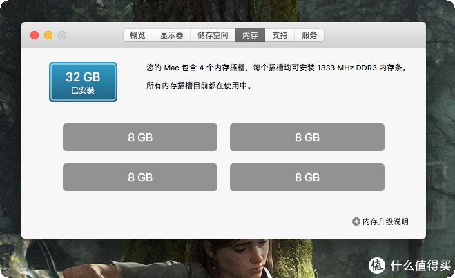 给iMac 21.5英寸2011款进行升级改造,内存加到32GB DDR3,换200GB SSD