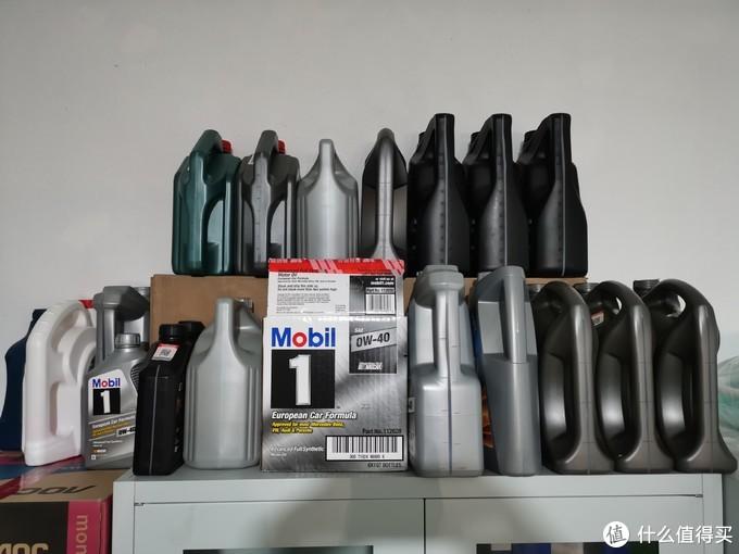 现有的机油囤货区域大部分为0w-40和5w-40的水油,也有少数修理厂买的行货机油