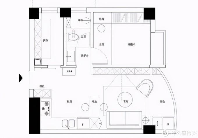 人生第一套房,仅有40㎡,却被他们改造成理想中的家,太美了