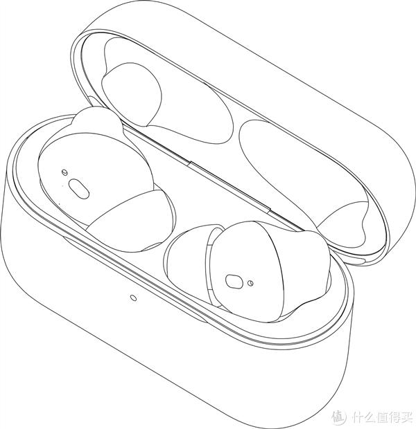 魅族首款支持ANC的真无线耳机将于本月发布,外观专利图曝光