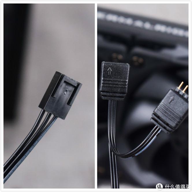 3PIN水泵供电+可串联ARGB接头