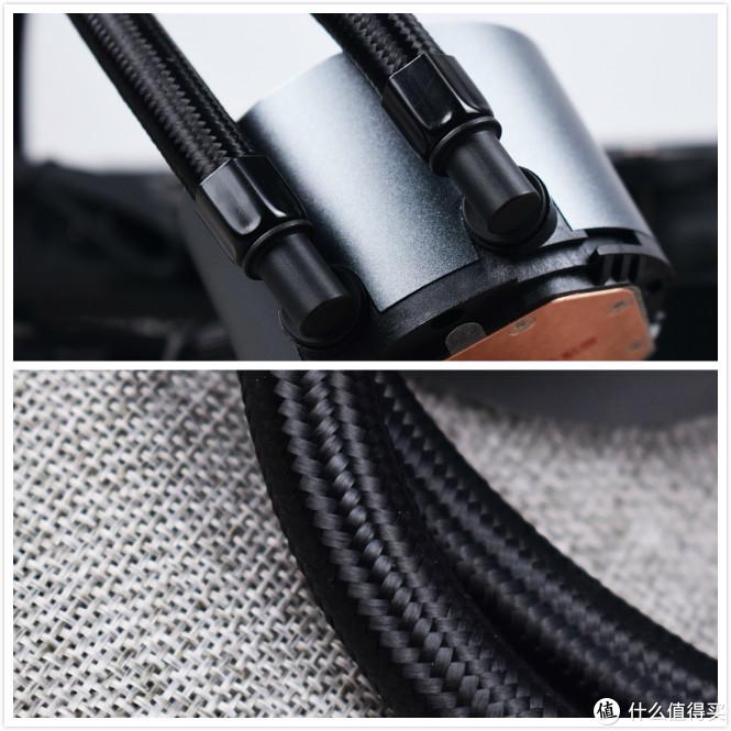 包裹编织物橡胶水冷管