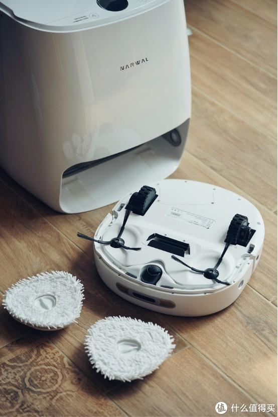 """""""可以自己洗拖布""""的云鲸扫地机器人,测评体验它是否""""真香""""?"""
