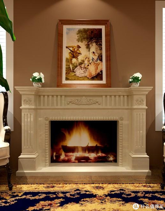 欧式风格的石材壁炉才更享受生活