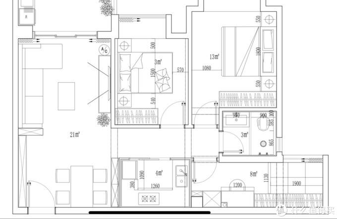 晒晒18万装修的北欧新房,家具电器大部分网购,2房改3房也头疼