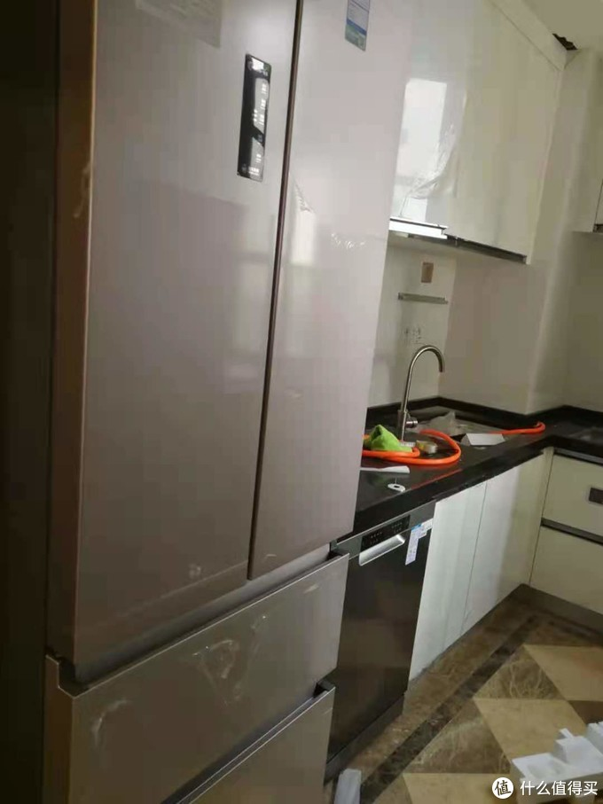 海尔EYW13028CSDU1洗碗机开箱和简单使用