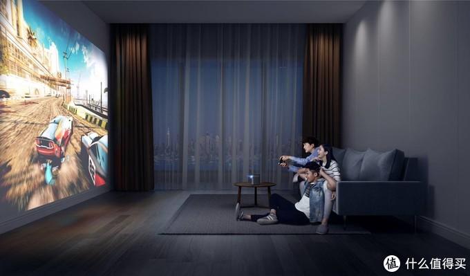 百寸大屏轻松呈现,引领家庭娱乐趋势的智能投影真的好用吗?