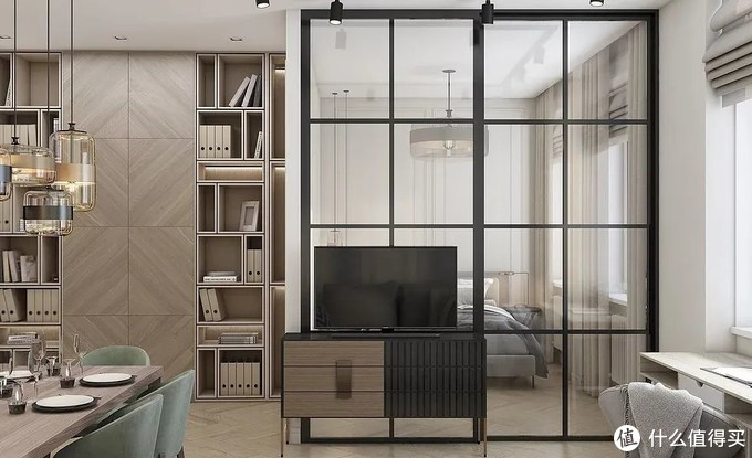 杭州小姑娘的45㎡小公寓,入户轻奢风,一个人住,真的超级爽