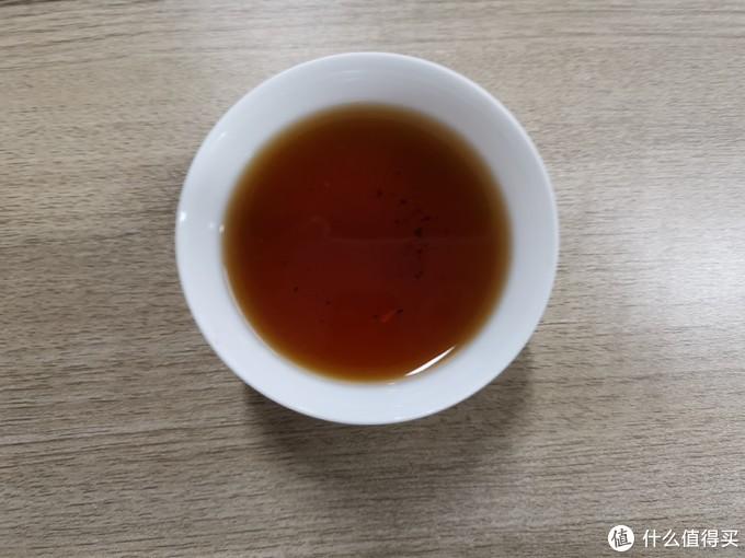 茶汤表面油亮,这就是圈里人所言的胶质丰富?