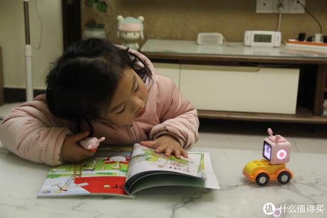 早教好帮手,小木百变悟空点读机器人有点厉害