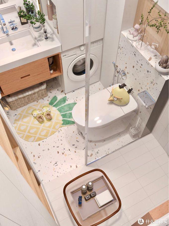 3m²小卫生间如何做干湿分离?智能马桶能安装吗?