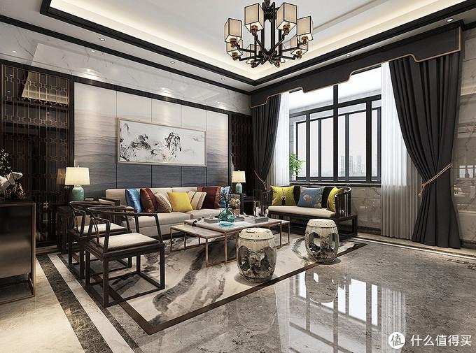 参观西安夫妇的中式风格复式楼,成熟稳重的格调,深深地被吸引了
