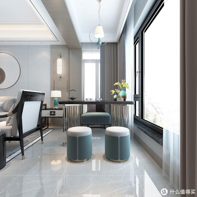看似一点都不豪华的家,处处都充满精致和浪漫,难怪都喜欢新中式