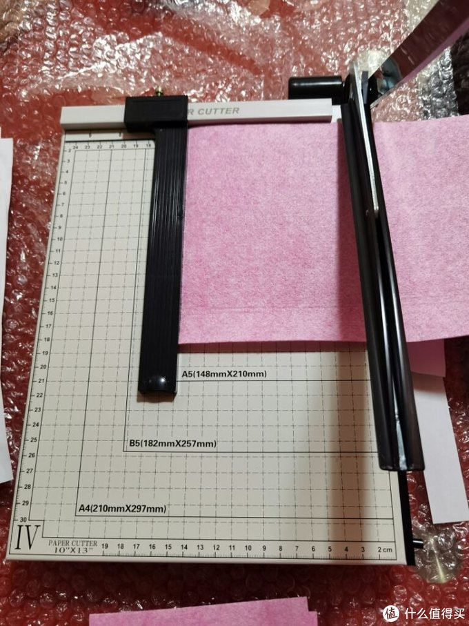 环美钢制A4切纸机8004开箱测评
