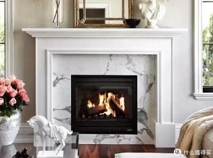 欧式风格的装修不能缺少的石材壁炉