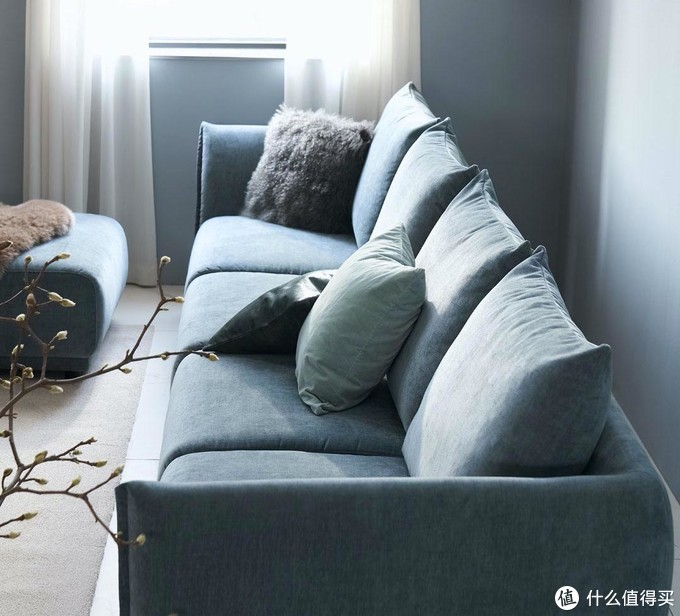 有品上新软蓬蓬的舒芙蕾沙发:5D坐感、三防面料、天然鸭毛填充,超舒服~