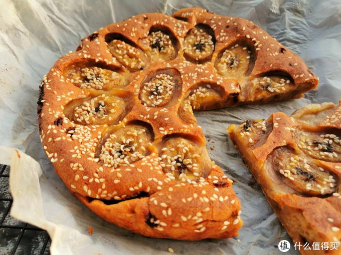 自制香蕉红糖烤年糕,不用揉面不用蒸,外脆里糯,解馋暖胃寓意好