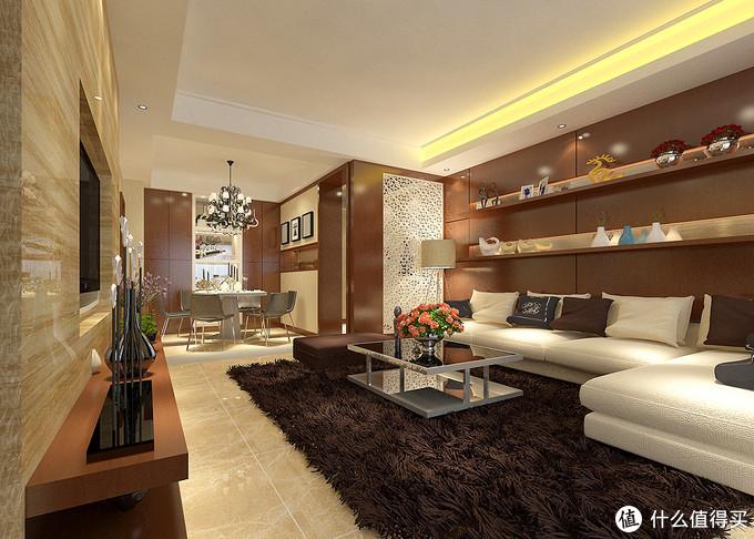 她家118㎡的现代简约风格,简单又有设计感,温馨感让人又爱又羡慕