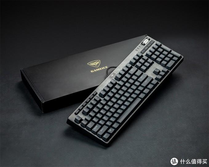 定义由我,混光多彩----超频三GI801 RGB可插拔轴机械键盘
