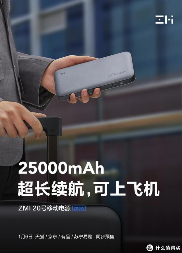 旅行袋里的钉子户,ZMI 20移动电源