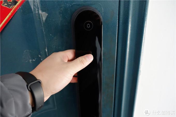 Aqara全自动推拉锁D100,出门不用带钥匙,老人方便,我们心安
