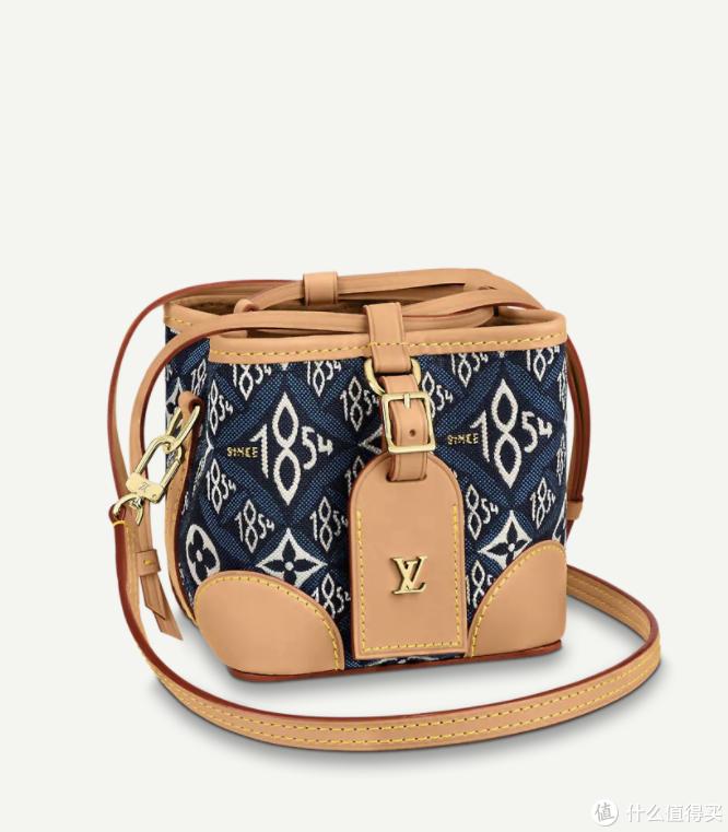 Louis Vuitton新包上架,SINCE 1854老花丹宁蓝系列,向经典老花致敬