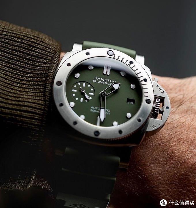 大c论表:VS沛纳海1055,可以和绿水鬼媲美的军表