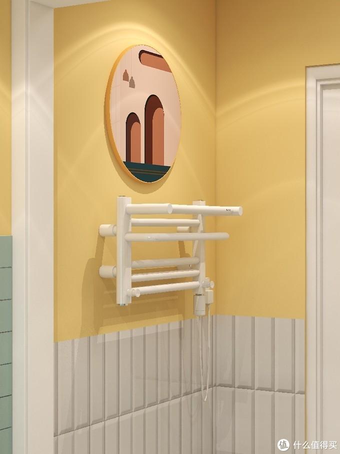 初冬的周末🔆️浴室温暖好物电热毛巾架