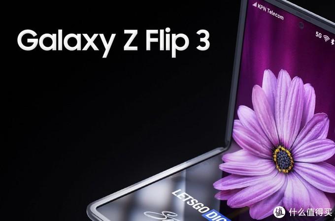 三星Galaxy Z Flip 3渲染图出炉,升级铰链、副屏更大了
