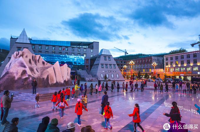 稻城雪山广场