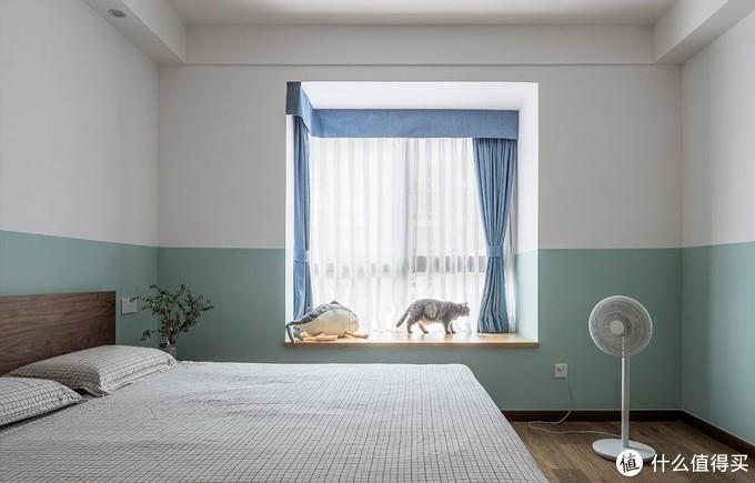 清爽干净的墙面颜色,让生活更惬意