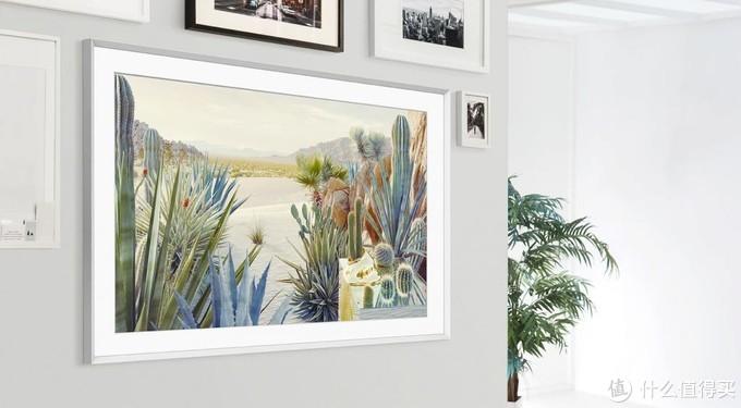 三星推出2021款The Frame画框电视:厚度仅24.9毫米,可横向直向自动旋转