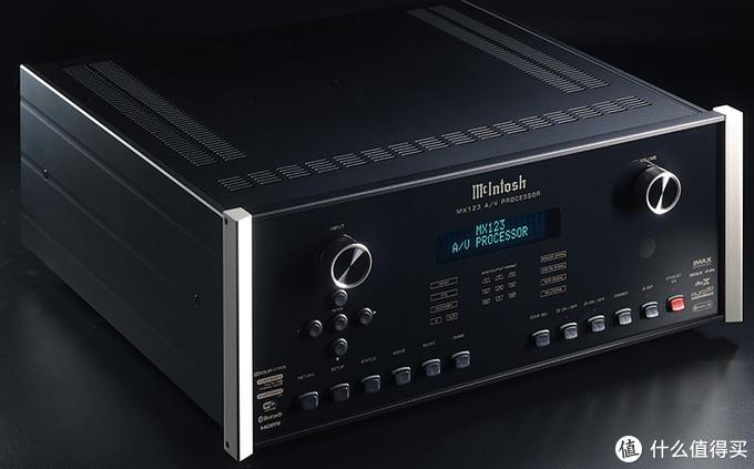 McIntosh(美国麦景图)MX123家庭影院前级处理器评测:全新升级,身份象征