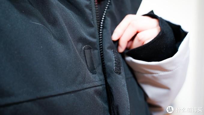 冬天街道上行走の暖流-风谜智能温控加热套装