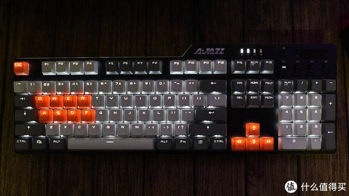 经济实在能干活可娱乐-黑爵AK35I游戏机械键盘