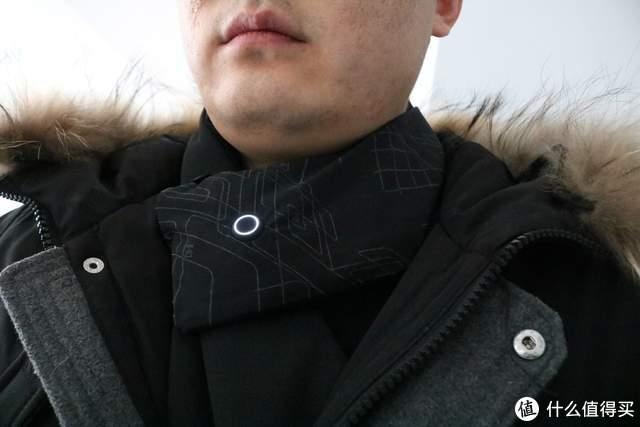 抵御寒冬 打工仔必备FOOXMET风谜温控发热围巾