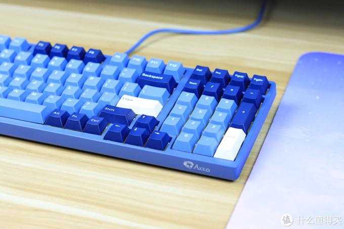 浪之白 海之蓝 - Akko3098 海洋之星 机械键盘开箱评测