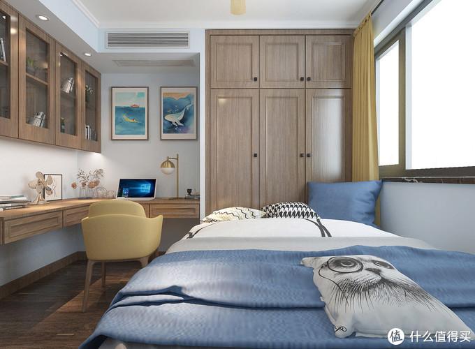 天津夫妻的115㎡新房,居然有四房,利用率很高,细节处处都是亮点