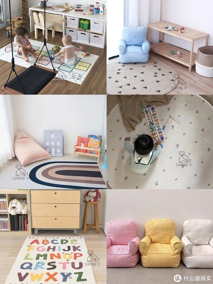 1688上超萌的婴童地毯,有颜值有温度,想给宝宝统统带回家