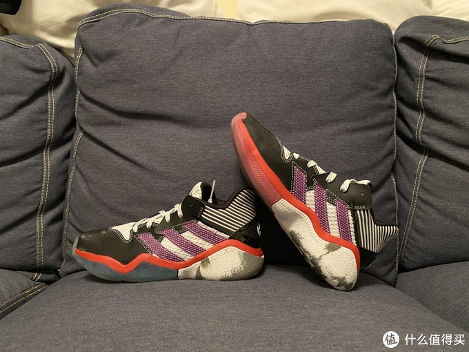 大胡子后撤步adidas harden stepback