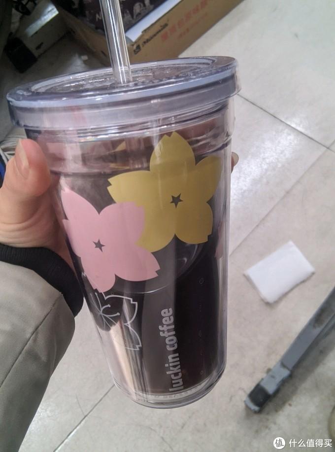 在梅花季开箱樱花季,瑞幸咖啡樱花季限定吸管杯开箱