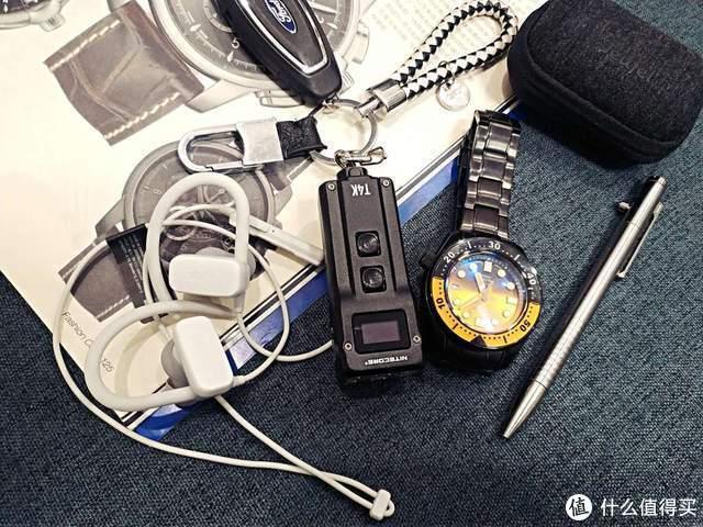 4000流明只能是大杀器?奈特科尔T4K智能钥匙灯也能这样强!