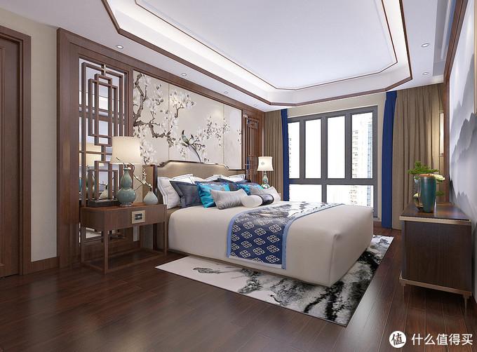 住腻了别墅,换两套打通的大平层,装中式风格,大气磅礴又有品味