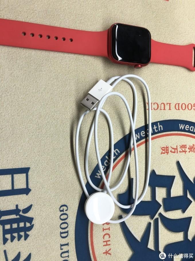 晒单之苹果iwatch s6,大红色年货开箱