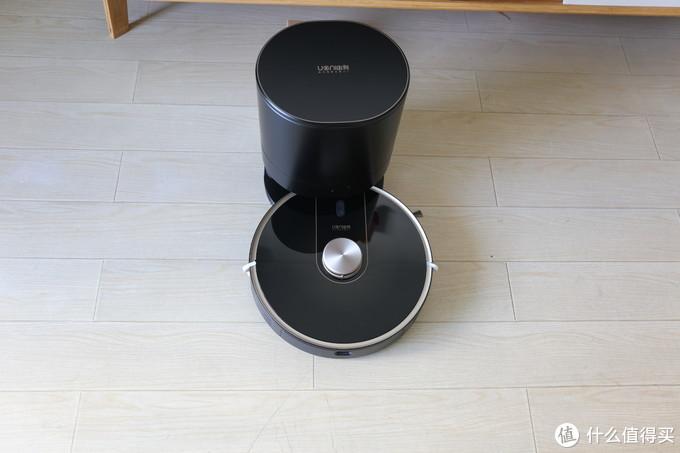 由利扫地机器人V980Plus开箱测评:扫拖于一体,自动倒垃圾更让人惊喜!