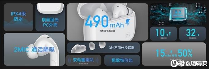 紫米ZMI PurPods真无线耳机开启预售,双动圈单元,旗舰外观