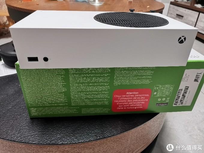 英亚直邮XBOX SERIES S拆箱